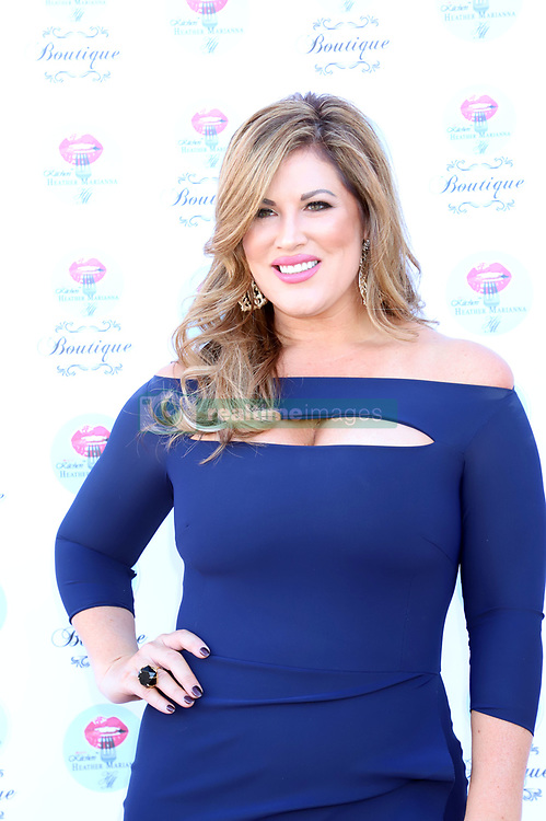 """Emily Simpson and Gina Kirschenheiter of """"The Real Housewifes of Orange County"""" host the opening of Beauty Kitchen Boutique. 03 Nov 2018 Pictured: Emily Simpson. Photo credit: KWKC/MEGA TheMegaAgency.com +1 888 505 6342"""