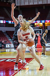 NORMAL, IL - February 27: Lexy Koudelka during a college women's basketball game between the ISU Redbirds and the Bears of Missouri State February 27 2020 at Redbird Arena in Normal, IL. (Photo by Alan Look)
