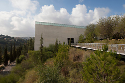 The entrance to Yad Vashem, Israel's Holocaust History Museum, the  official memorial to the Jewish victims of the Holocaust. Tuesday 4th Jan, 2011. Day five, Day trip to Jerusalem. Train & Travel is a unique ten day program designed for IKMF's instructors, students & guests, interested in combining Krav Maga training with a tour of the holy land. .©2011 Michael Schofield. All Rights Reserved.