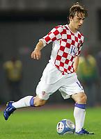 Livorno 16/08/06<br /> Amichevole Italia-Croazia 0-2<br /> Luka Modric Croazia<br /> Foto Luca Pagliaricci Inside<br /> <br /> Photo Luca Pagliaricci Inside