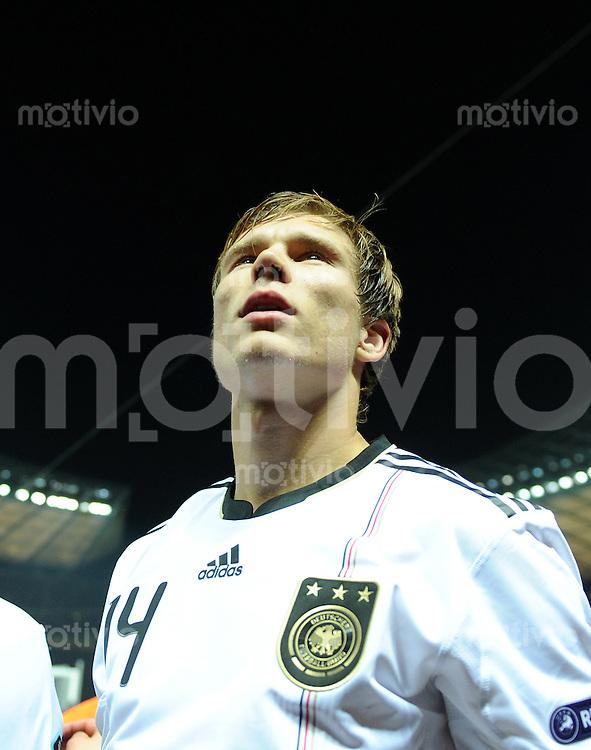 FUSSBALL INTERNATIONAL  EM 2012 - Qualifikation  SAISON 2010/2011    Deutschland - Tuerkei      08.10.2010 Holger BADSTUBER (Deutschland)