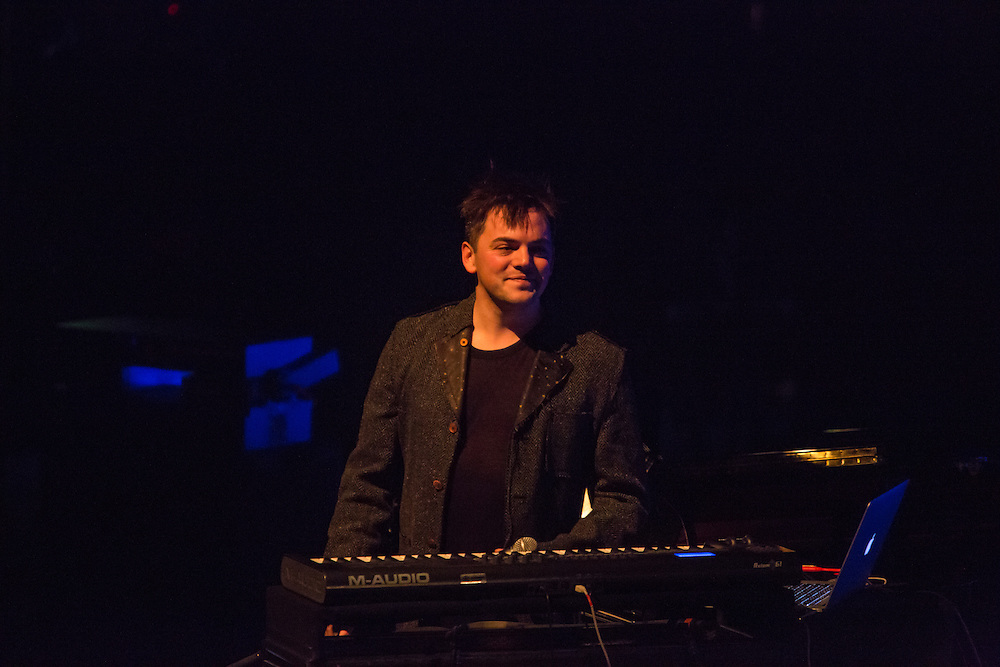 Planetarium, a series of songs composed by Bryce Dessner, Sufjian Stevens, and Nico Muhly at the Brooklyn Academy of Music (BAM). Nico Muhly.