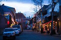 Nevada City, California.