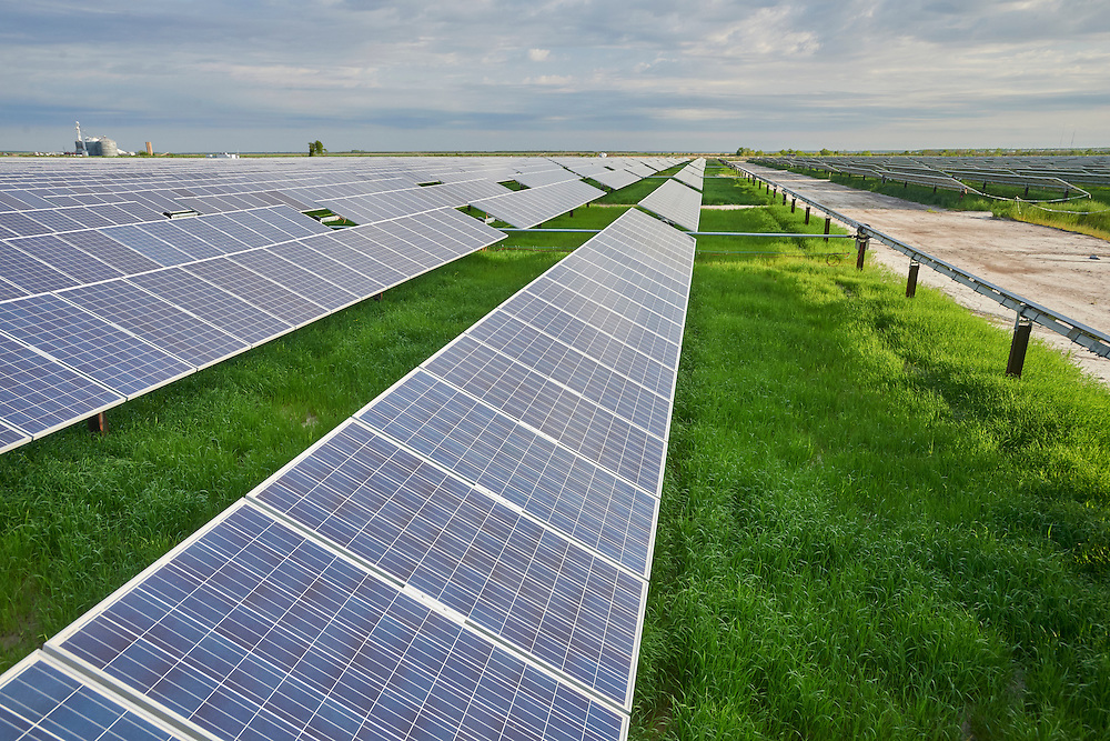 Duke Energy Solar Power Farm, Elizabeth City, NC
