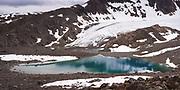 A proglacial lake