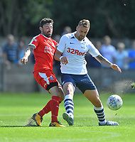 Preston North End's Patrick Bauer in action during todays match  <br /> <br /> Photographer Dave Howarth/CameraSport<br /> <br /> Football Pre-Season Friendly - Bamber Bridge v Preston North End - Saturday 6th July 2019 - Sir Tom Finney Stadium - Bamber Bridge<br /> <br /> World Copyright © 2019 CameraSport. All rights reserved. 43 Linden Ave. Countesthorpe. Leicester. England. LE8 5PG - Tel: +44 (0) 116 277 4147 - admin@camerasport.com - www.camerasport.com