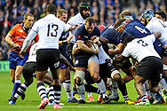 Scotland's pack was up to task during the 2018 Autumn Test match between Scotland and Fiji at Murrayfield, Edinburgh, Scotland on 10 November 2018.