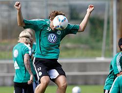 19.07.2011, Bad Kleinkirchheim, AUT, Fussball Trainingscamp VFL Wolfsburg, im Bild Patrick Helmes , EXPA Pictures © 2011, PhotoCredit: EXPA/Oskar Hoeher