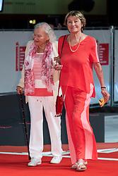 Jenny Bellay, Marisa Borini walk the red carpet ahead of Les Estivants (The Summer House) screening during the 75th Venice Film Festival at Sala Grande on September 5, 2018 in Venice, Italy. Photo by Marco Piovanotto/ABACAPRESS.COM