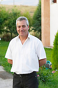 Nikos Kontosoros, The owner. Kontosoros restaurant and guest house, Xino Nero, Amyndeo, Macedonia, Greece