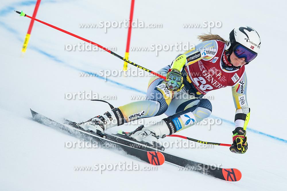 Thea Louise Stjernesund (NOR) during the Ladies' Giant Slalom at 57th Golden Fox event at Audi FIS Ski World Cup 2020/21, on January 16, 2021 in Podkoren, Kranjska Gora, Slovenia. Photo by Vid Ponikvar