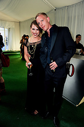 BILLIE PIPER and LAURENCE FOX at the Glamour Women Of The Year Awards held in Berkeley Square, London on 8th June 2010.