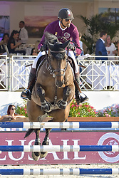 June 9, 2018 - Cannes, France - Sheikh Ali Al Thani (Qatar) - Equipe Doha Fursan Qatar - Carolina 31 (Credit Image: © Panoramic via ZUMA Press)