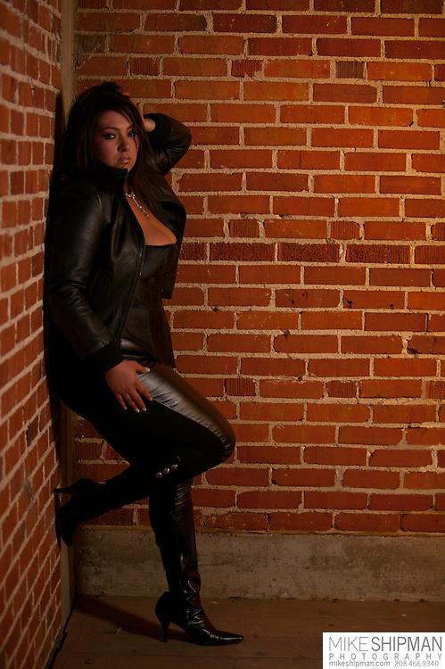 Jamie Bruce model portfolio shoot, MR. Make-up/Hair Desiree Worrell