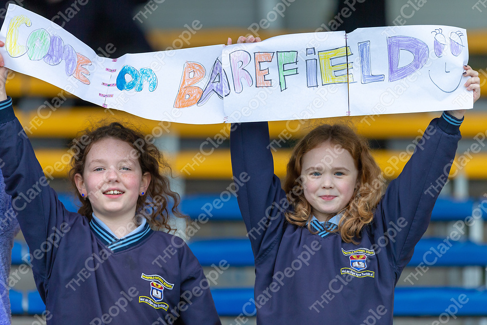 Barefield supporters Clara Coote Shannon and Emily Browne