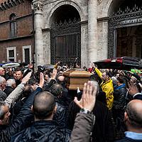 Funerali Pino Rauti