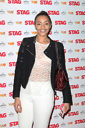 © Licensed to London News Pictures. 13/03/2014, UK. Amal Fashanu, The Stag - Gala Screening, Vue Cinema Leicester Square, London UK, 13 March 2014. Photo credit : Richard Goldschmidt/Piqtured/LNP