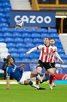 zFootball - 2020 / 2021 Premier League - Everton vs Sheffield United - Goodison Park<br /> <br /> <br /> Everton's Dominic Calvert-Lewin battles with Sheffield United's John Fleck <br /> <br /> <br /> COLORSPORT/TERRY DONNELLY