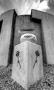 Monument to the volunteers of Machal (or Mahal: Volunteers from outside the Land of Israel) at Shaar Hagai between Tel Aviv and Jerusalem.