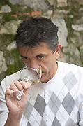 Herve Sabardeil, winemaker. Chateau de Jau, Cases de Pene, Roussillon, France