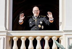 Fürst Albert von Monaco bei den Feierlichkeiten zum Nationalfeiertag in Monaco / 191116<br /> <br /> ***National Day in Monaco, November 19th, 2016***