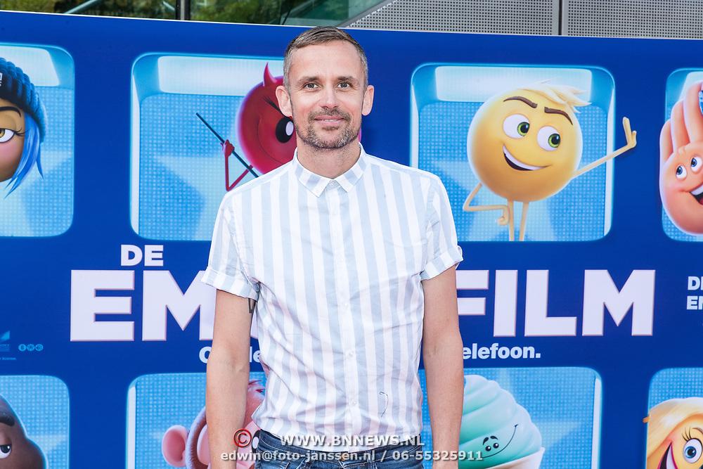 NLD/Amsterdam/20170802 - Premiere De Emoji film, Patrick Martens