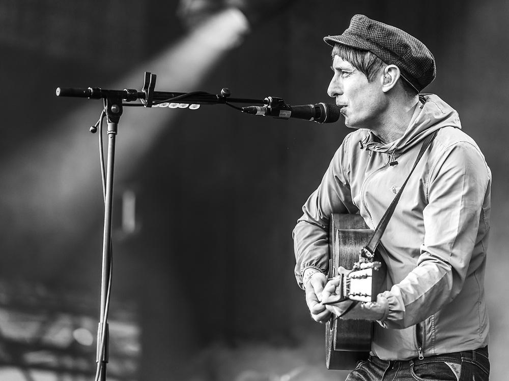 Scottish singer-songwriter Gerry Cinnamon at Haldern Pop Festival