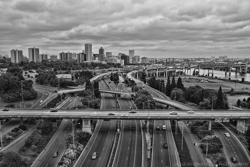 Downtown Portland & Interstate 5