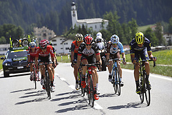 June 15, 2017 - Locarno / La Punt, Suisse - DE CLERCQ Bart (BEL) Rider of Team Lotto - Soudal, BAKELANTS Jan (BEL) Rider of Team AG2R La Mondiale during stage 6 of the Tour de Suisse cycling race, a stage of 166 kms between Locarno and La Punt on June 15, 2017 in La Punt, Switserland, 15/06/2017 (Credit Image: © Panoramic via ZUMA Press)