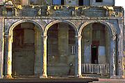 Havana, Cuba photo of a decaying beauty on El Malecon