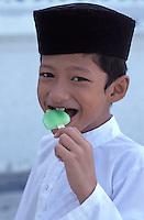Malaisie, Etat de Pahang, Kuatan, Écolier // School boy at Kuatan, Pahang state, Malaysia