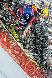 22.01.2011, Hahnenkamm, Kitzbuehel, AUT, FIS World Cup Ski Alpin, Men, Downhill, im Bild // Ivica Kostelic (CRO) // during the men downhill race at the FIS Alpine skiing World cup in Kitzbuehel, EXPA Pictures © 2011, PhotoCredit: EXPA/ S. Zangrando