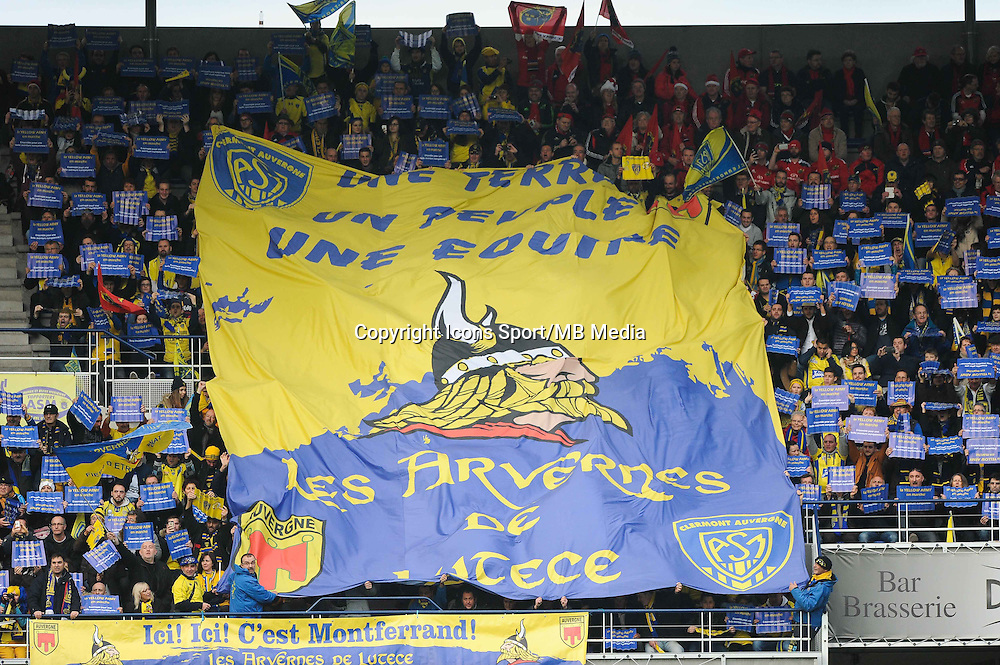 Supporters Clermont - 14.12.2014 - Clermont / Munster - European Champions Cup <br /> Photo : Jean Paul Thomas / Icon Sport