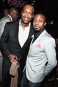 7 March 2011- New York, NY- l to r: Jeff Friday and Torian Robison at the Power of Urban Presentation and Reception hosted by Magic Johnson and Yucaipa and held at the Empire Penthouse on March 7, 2011 in New York City. Photo Credit: Terrence Jennings/Photo Credit: Terrence Jennings for Uptown Magazine