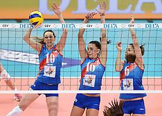 20151003 NED: Volleyball European Championship Semi Final Rusland - Servie, Rotterdam
