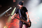 Godsmack performing on the Mayhem Festival at Verizon Wireless Amphitheater in St. Louis, Missouri on July 19, 2011. © Todd Owyoung.