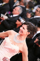 Delphine Chanéac, Actress at the gala screening Madagascar 3: Europe's Most Wanted at the 65th Cannes Film Festival. On Friday 18th May 2012 in Cannes Film Festival, France.