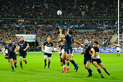 November 11, 2017 - Saint Denis, Seine Saint Denis, France - French team scrum-half ANTOINE DUPONT in action during the friendly match between France and New Zealand at the Stade de France - St Denis - France.New Zealand beats France 38-18 (Credit Image: © Pierre Stevenin via ZUMA Wire)