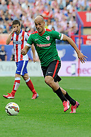 Athletic Club´s Mikel Rico during 2014-15 La Liga match between Atletico de Madrid and Athletic Club at Vicente Calderon stadium in Madrid, Spain. May 02, 2015. (ALTERPHOTOS/Luis Fernandez)