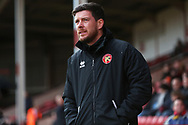 Darrell Clarke before the EFL Sky Bet League 2 match between Walsall and Crawley Town at the Banks's Stadium, Walsall, England on 18 January 2020.
