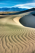 Sand dunes in Death Valley National Park, California
