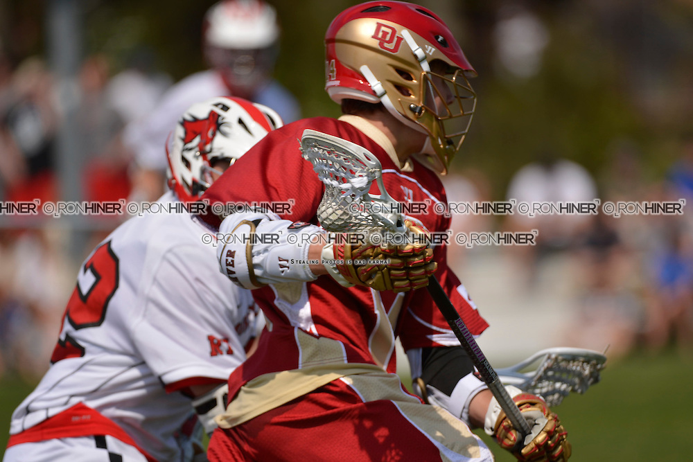 Fairfield University defeats University of Denver Men's Lacrosse in overtime