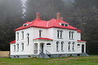 Lighthouse keeper's residence, Cape Disappointment Stae Park Washington