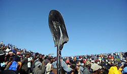 South Africa - Cape Town - 21 July 2020 - Leaders of the community lead by loyiso Nkohla met with Covid  Infomal Settlement and Saniters Informal settlement in Mew way road near N2 Khayelitsha Photographer Ayanda Ndamane African News Agency(ANA)
