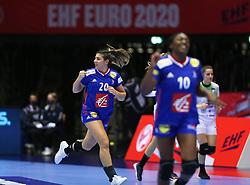 HERNING, DENMARK - DECEMBER 6: Laura Flippes during the EHF Euro 2020 Group A match between Slovenia and France in Jyske Bank Boxen, Herning, Denmark on December 6, 2020. Photo Credit: Allan Jensen/EVENTMEDIA.