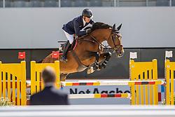 Whitaker Michael, GBR, Negredo de Muze<br /> Aachen International Jumping<br /> Aachen 2020<br /> © Hippo Foto - Stefan Lafrentz<br /> 05/09/2020