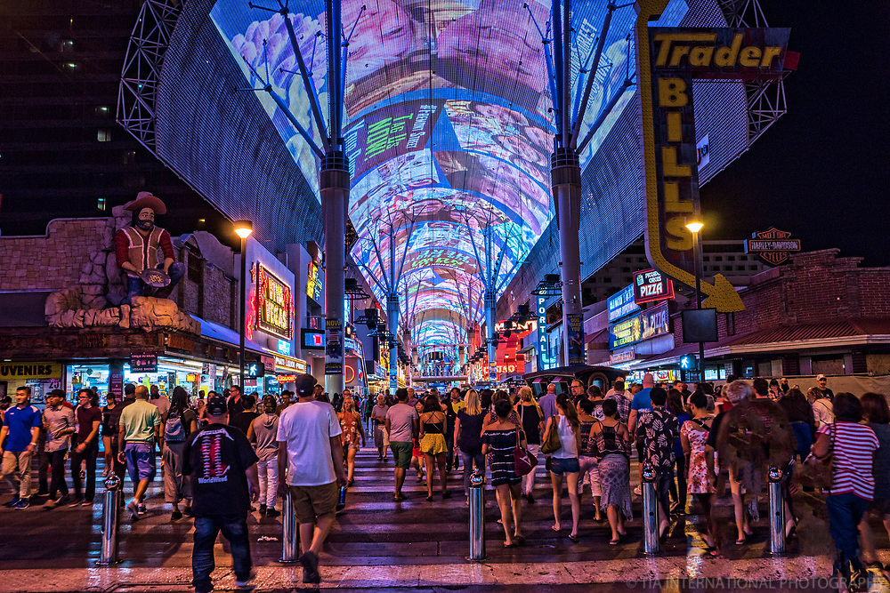 Welcome to the Fremont Street Experience