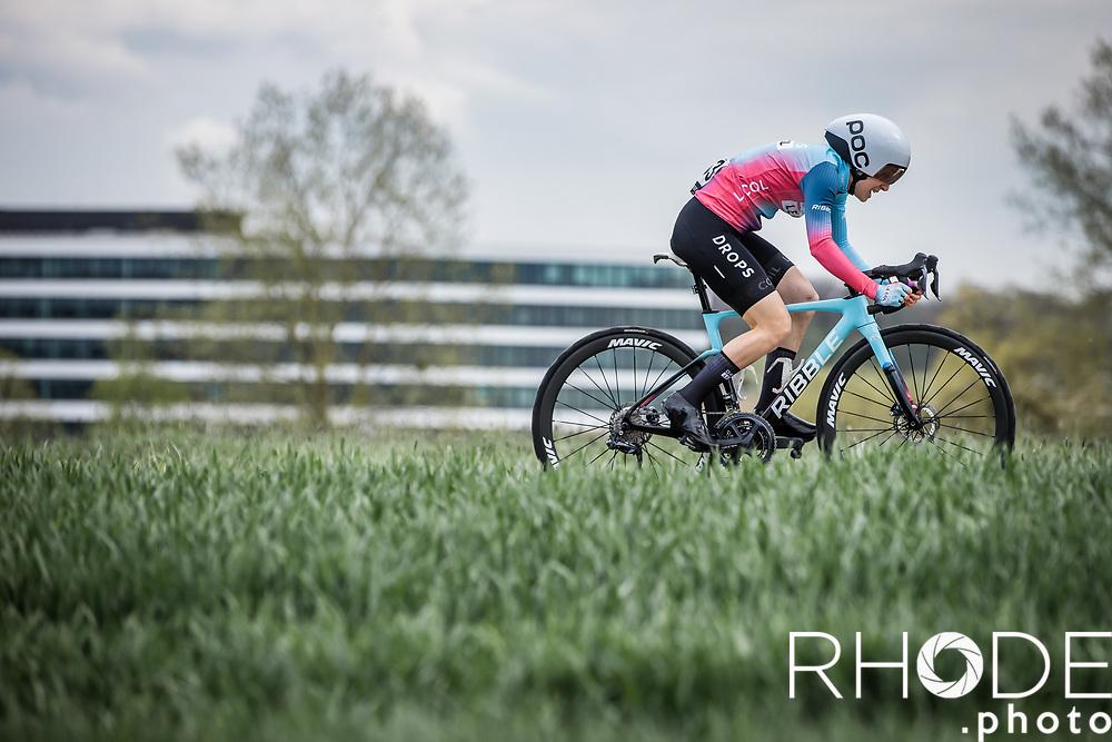 Dani Christmas (GBR/Drops-LeCol)<br /> <br /> Ceratizit Festival Elsy Jacobs (LUX) 2021<br /> UCI Women Elite 2.1<br /> Day 1 - prologue : Individual Time Trial (ITT) – Cessange (LUX) 2.2km <br /> <br /> ©RhodePhoto