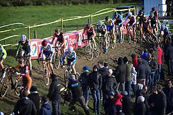 October 28, 2018 - Ruddervoorde, Belgium - Illustration picture showing cyclocross riders (Credit Image: © Panoramic via ZUMA Press)