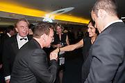 BONO; AYDA FIELD; ROBBIE WILLIAMS, 2012 GQ Men of the Year Awards,  Royal Opera House. Covent Garden, London.  3 September 2012